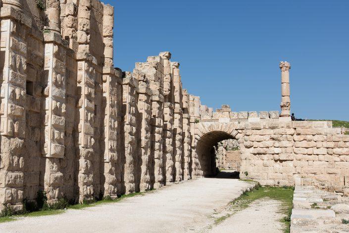 City-Walls, Jerash, Jordan