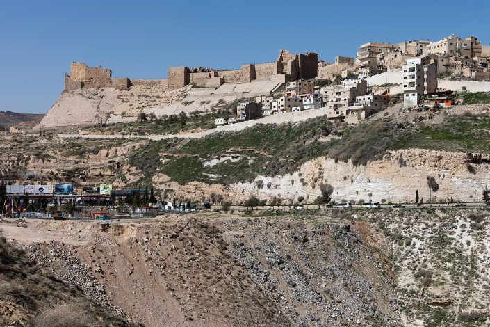 Kerak Castle, Crusader Castle, Al-Karak, Jordan