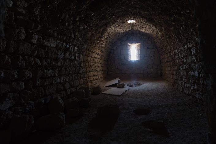 Inside Kerak Castle, Crusader Castle, Al-Karak, Jordan