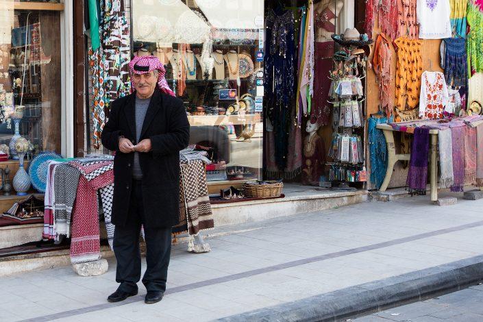 Salesman, Madaba, Jordan