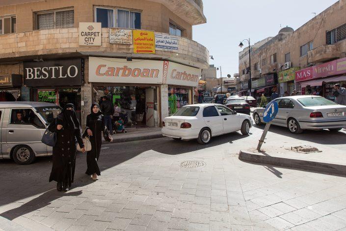 City streets, Madaba, Jordan