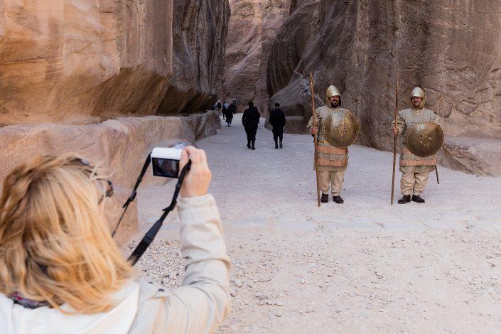 Welcome in Petra, Jordan