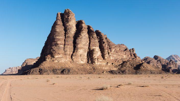 Seven Pillars of Wisdom, Wadi Rum Desert Jordan