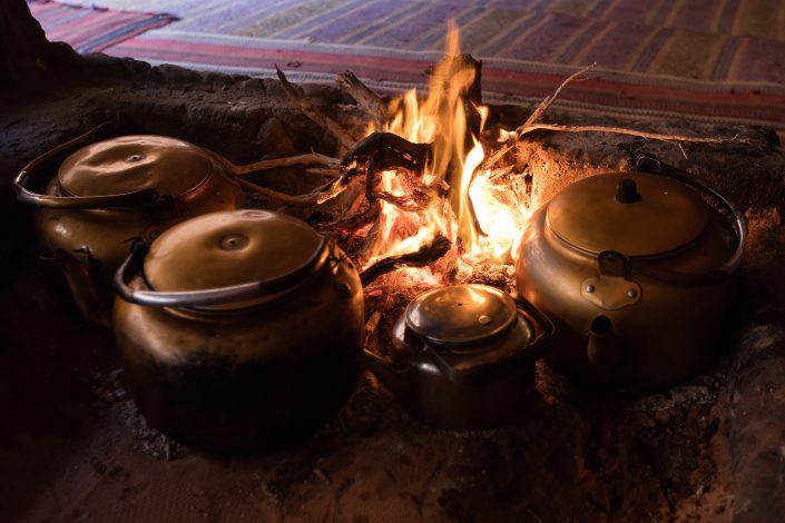 Tea Time, Wadi Rum Desert Jordan
