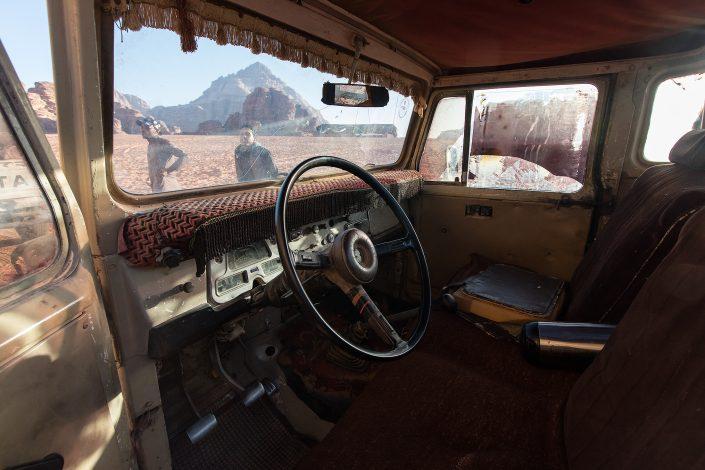 Toyota, Wadi Rum Desert Jordan