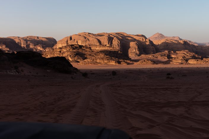 Mountains, Wadi Rum Desert Jordan