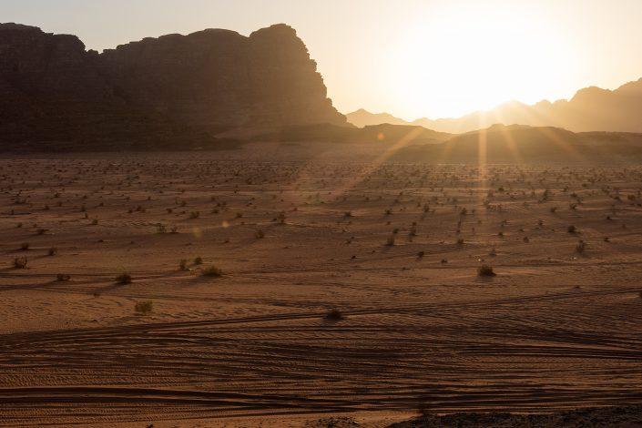Sunset, Wadi Rum Desert Jordan