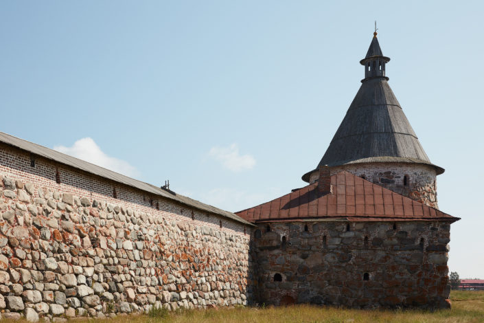 Russian Orthodox Monastery in the Solovetsky Islands