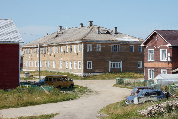 House in the Solovetsky Islands