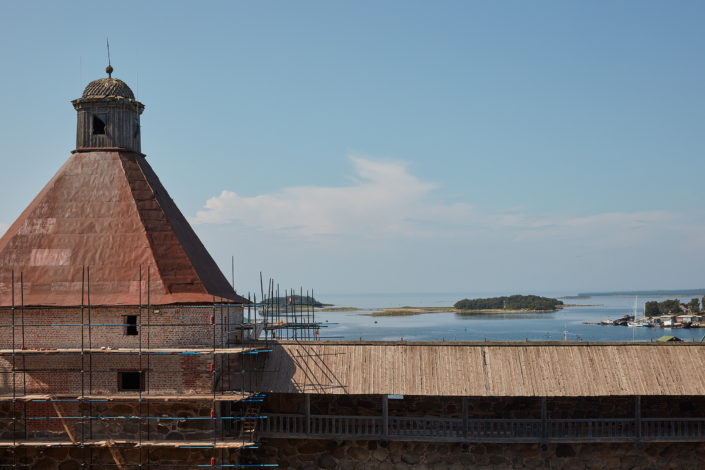 View from Russian Orthodox Monastery in the Solovetsky Islands