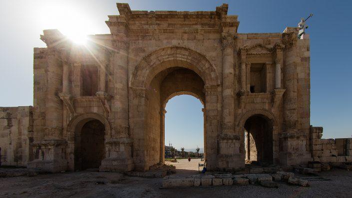 Hadriana's Arch, Jerash, Jordan