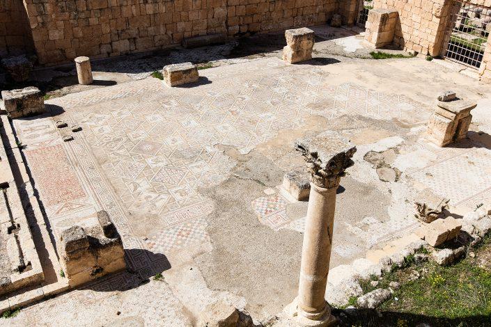 Three Churches, Jerash Jordan