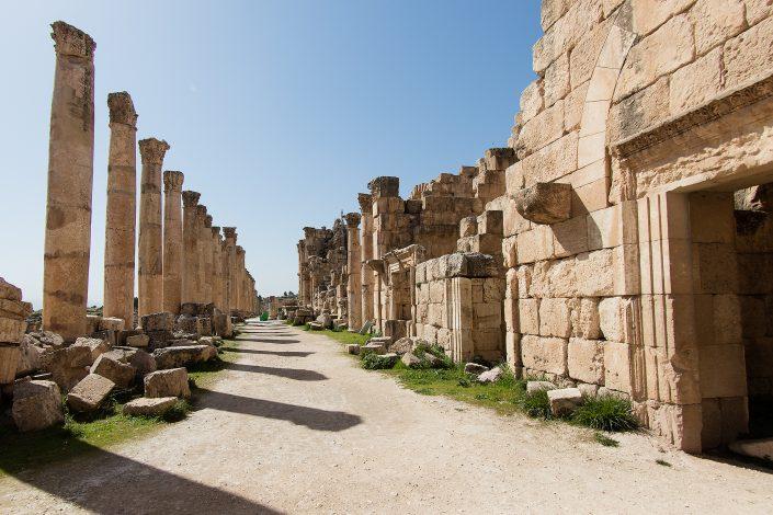 "The Cardo ""Colonnaded Street"", Jerash, Jordan"