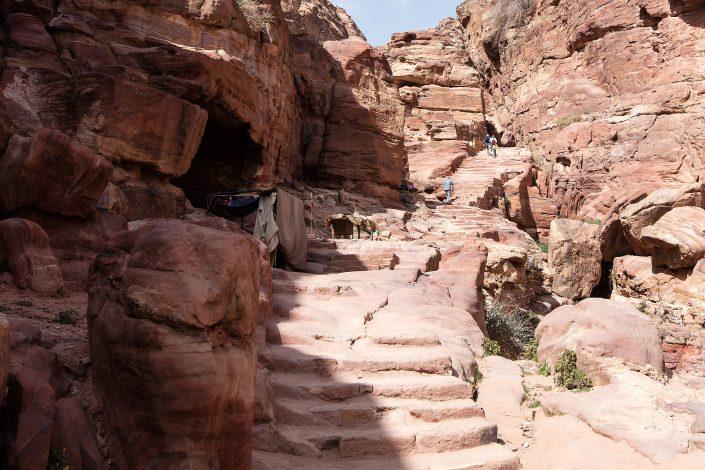 Stairs to the Monastery, Petra, Jordan