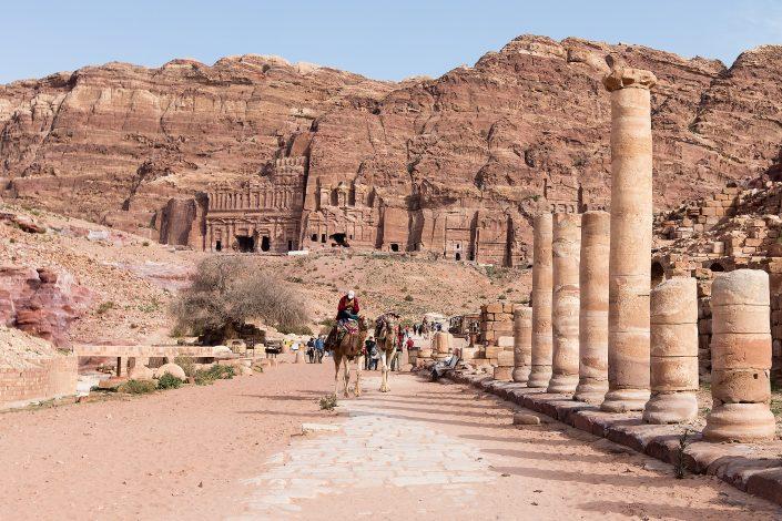 Colonaded Street, Petra, Jordan